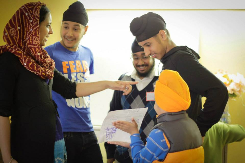 Photo courtesy of Junior SIkh Coalition